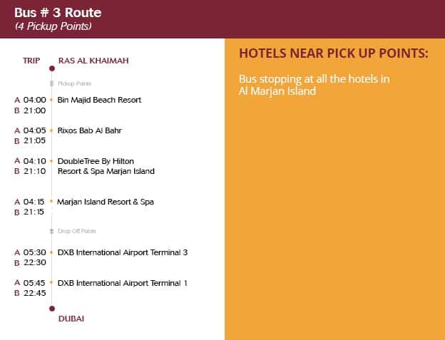 Ras Al Khaimah To Dubai Route #3