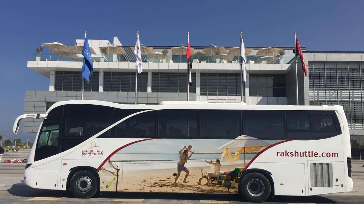 Ras Al Khaimah Shuttle bus