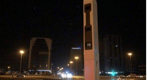 Speed radar camera Ras Al Khaimah