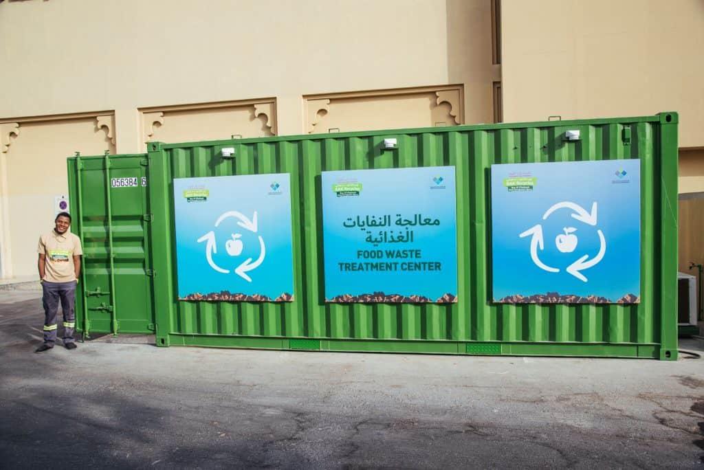 Al Hamra Mall Food Waste Treatment Center