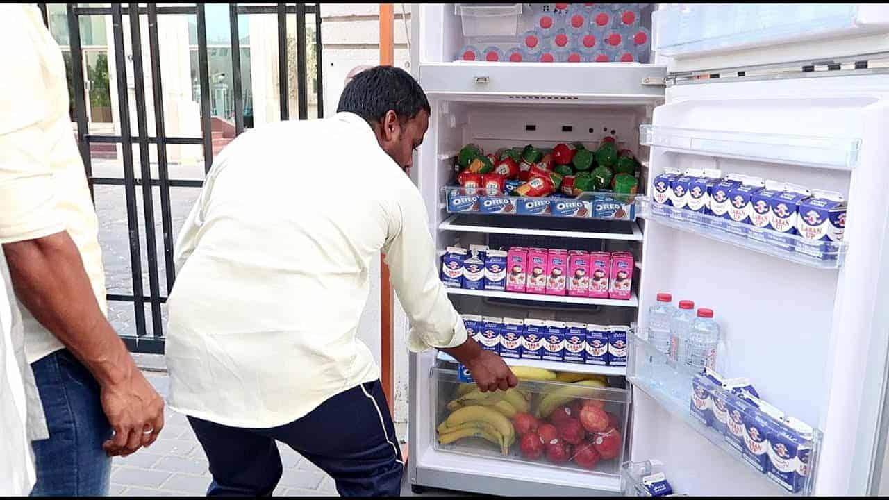Little Treasure sharing fridge Ras Al Khaimah