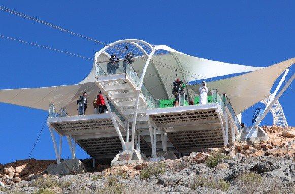Jebel Jais zipline Ras Al Khaimah