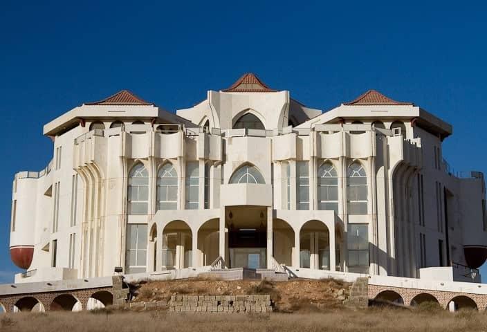 Front facade Al Qassimi Palace Ras Al Khaimah