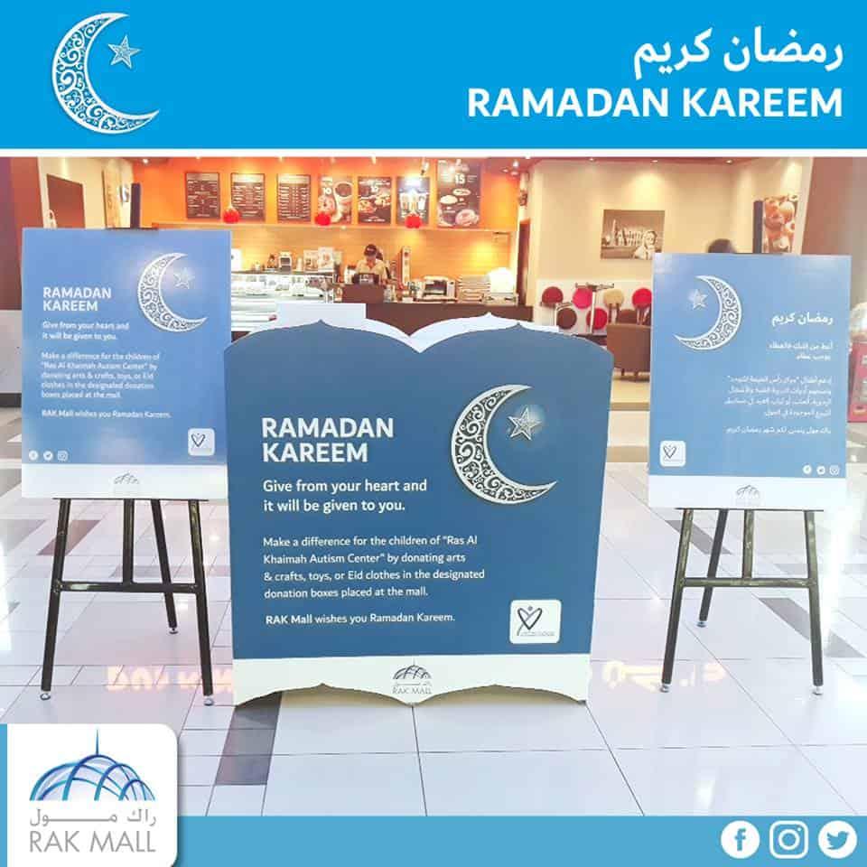 Ramadan Donation Ras Al Khaimah Autism centre