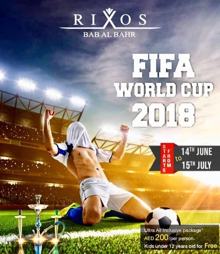 Fifa world cup 2018 Rixos Bab Al Bahar, Ras Al Khaimah
