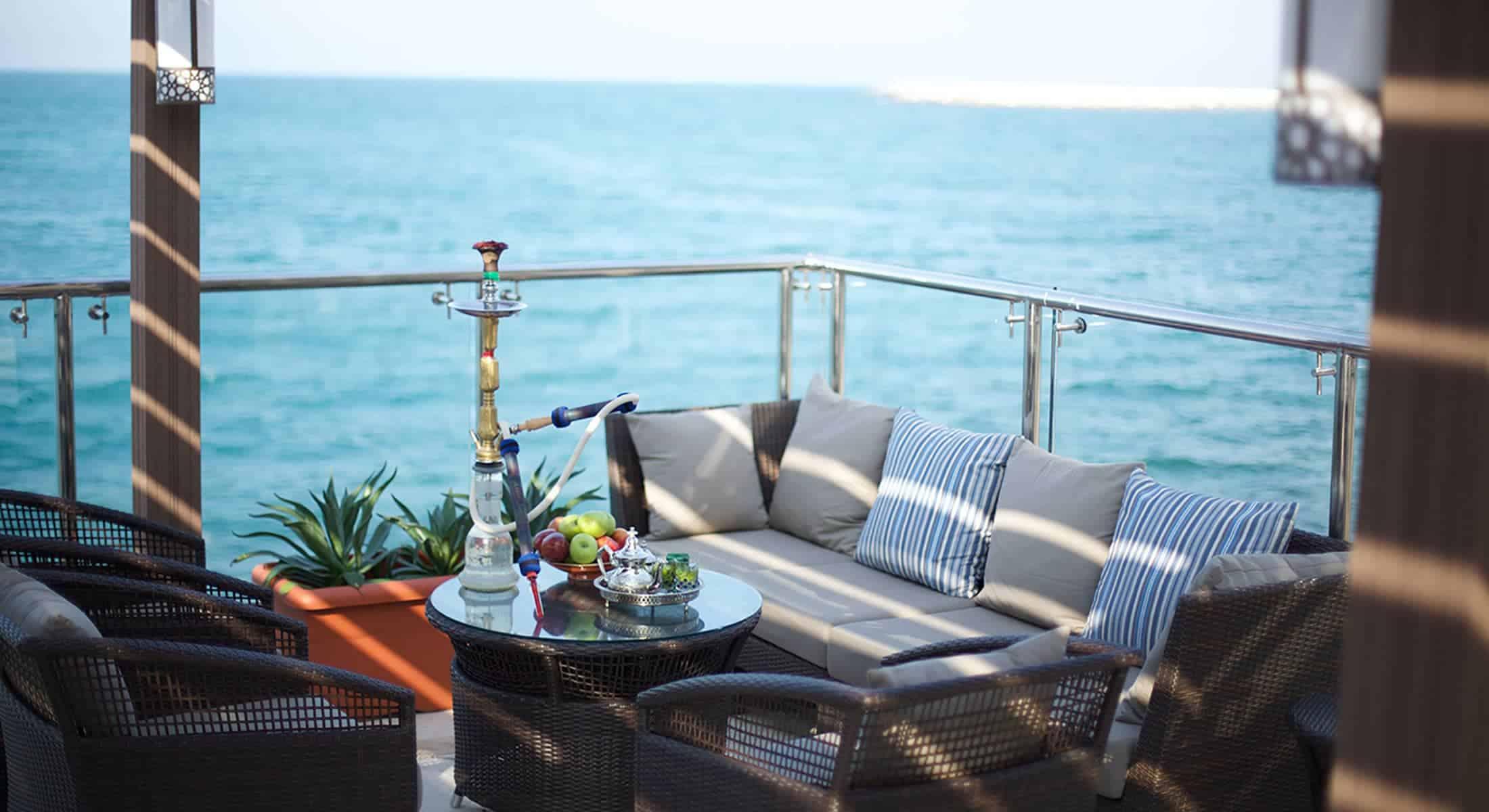 Amouage lounge & terrace, Ras Al Khaimah