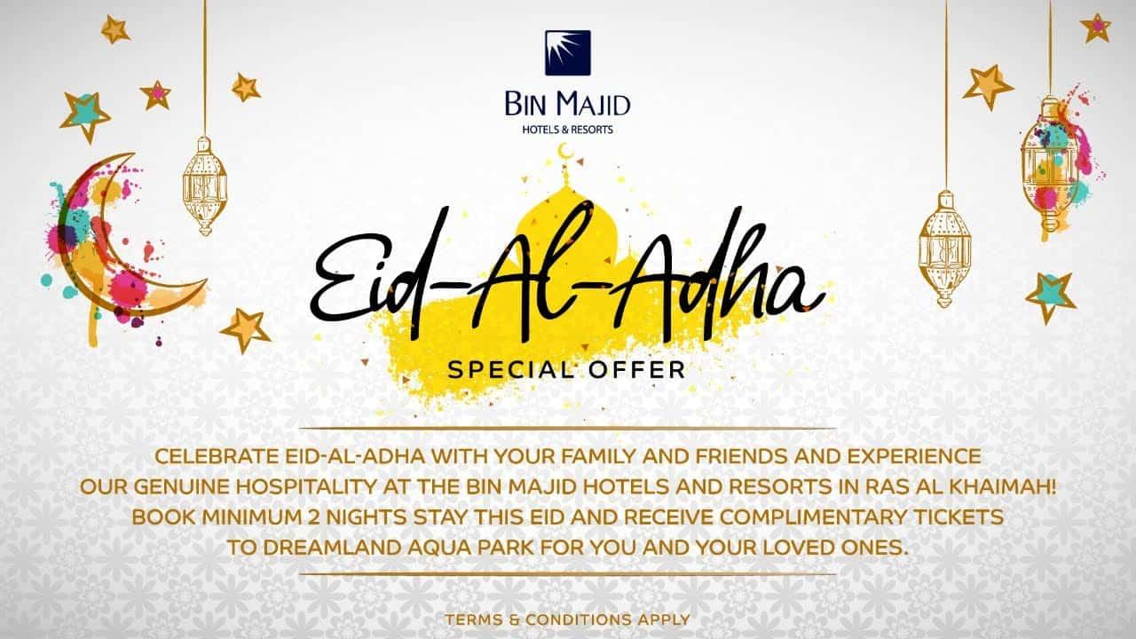 Bin Majid Hotels and Resorts Ras Al Khaimah Eid Al Adha Offer