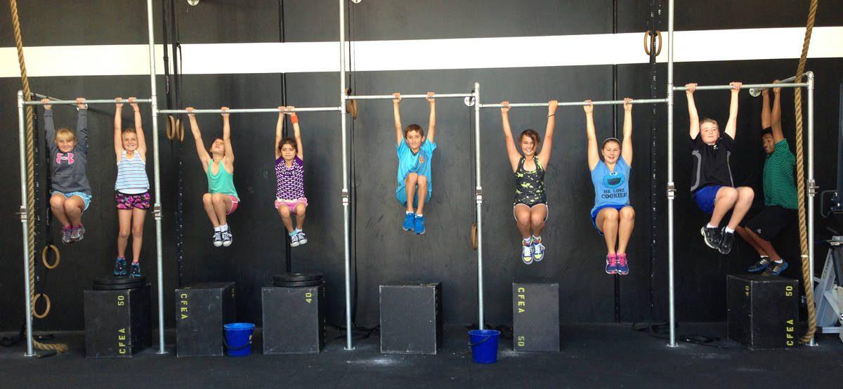 Crossfit kids fitness Ras Al Khaimah