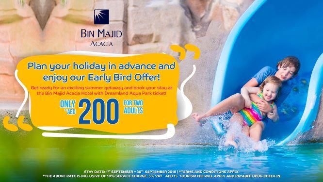 Dreamland offer from Bin Majid Acacia Hotel Ras Al Khaimah