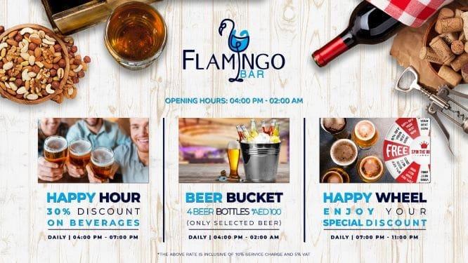 Exciting Offers at Flamingo Bar - Bin Majid Acacia Hotel and Apartments in Ras Al Khaimah