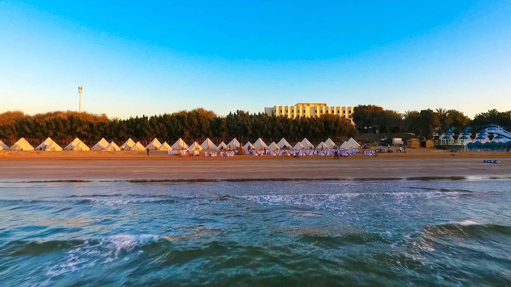 The LongBeach Campground at Bin Majid Beach Hotel, Ras Al Khaimah