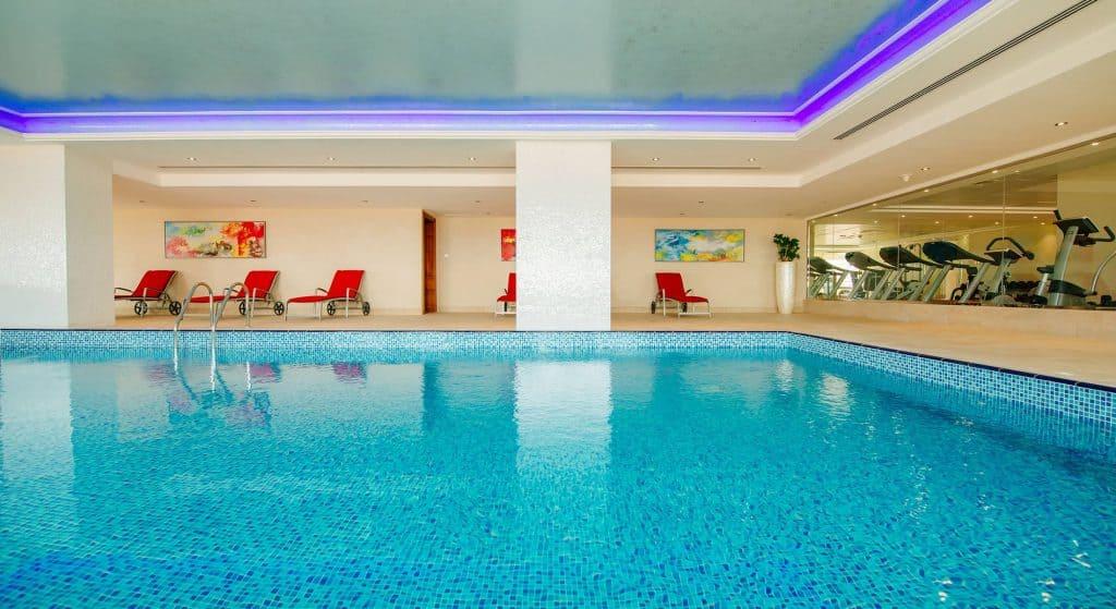 Indoor Pool and Gym Marjan Island Resort & Spa Ras Al Khaimah