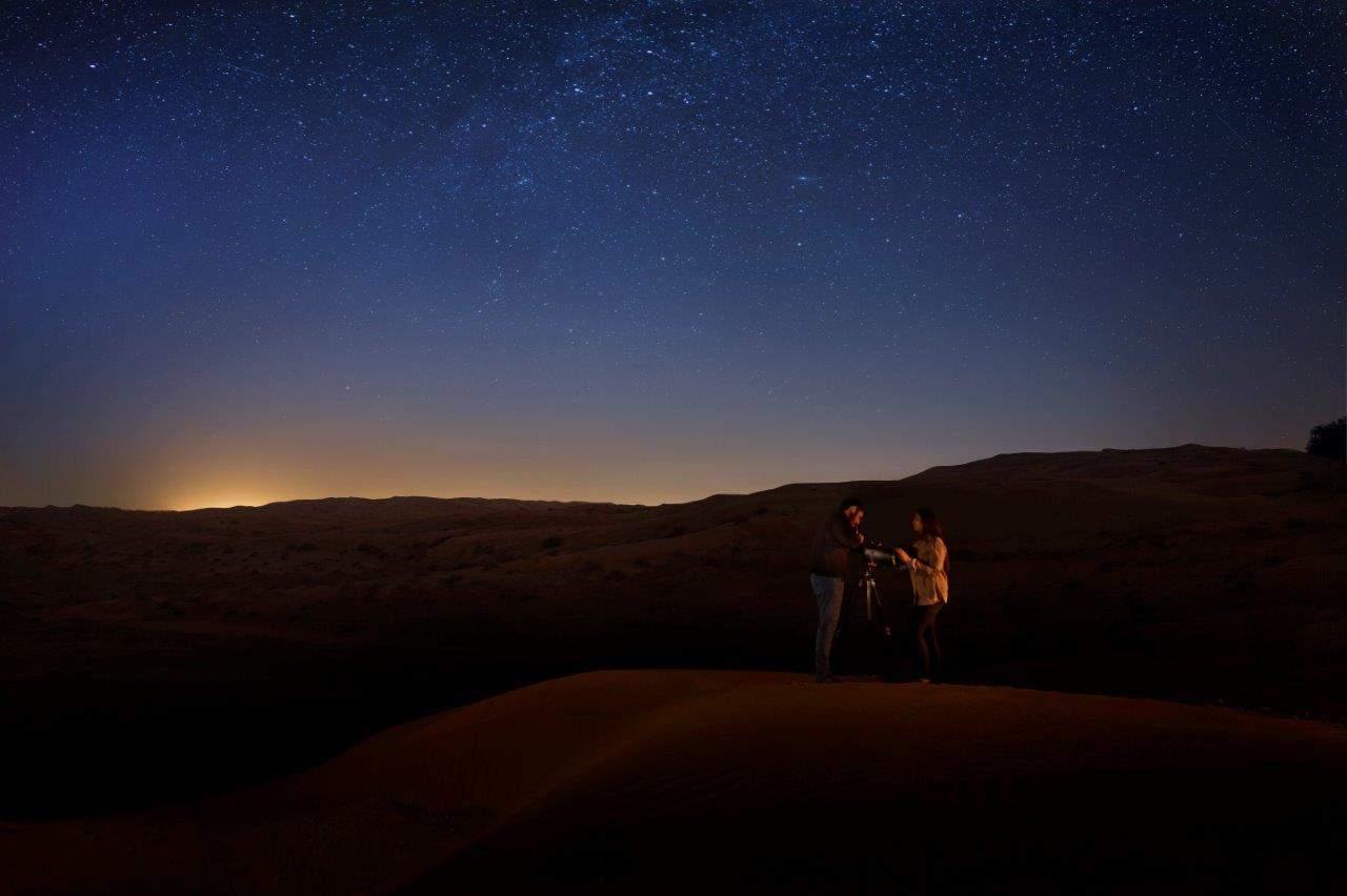 Stargazing-Ritz Carlton Ras Al Khaimah