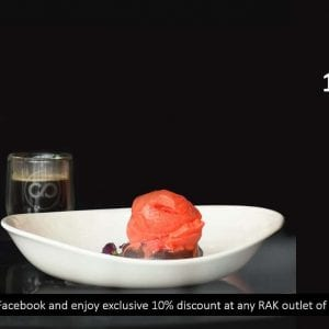 Exclusive discount for wow-rak followers