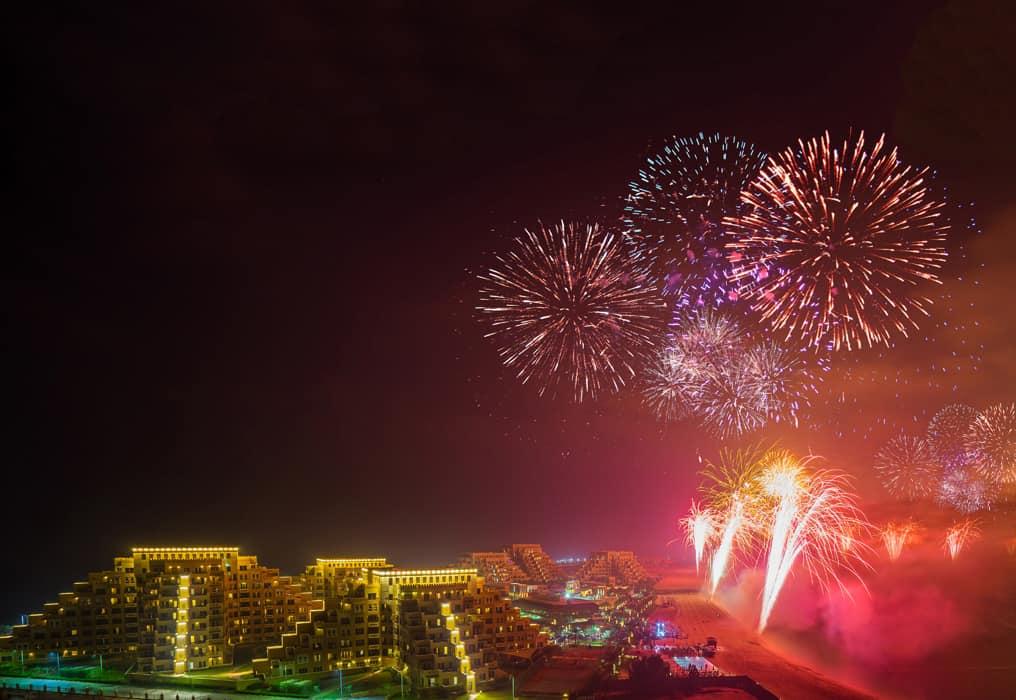 2018 Guinness World Record breaking fireworks in Ras Al Khaimah