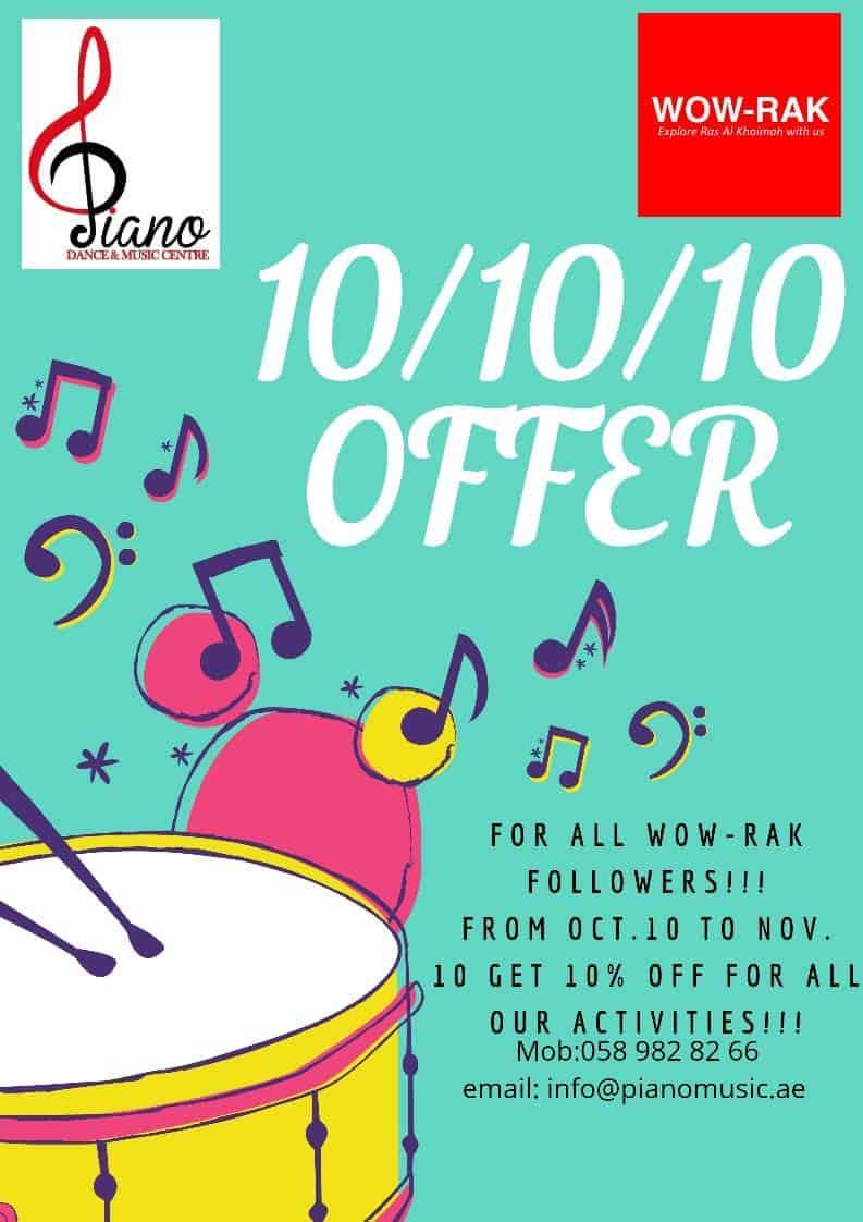 10/10/10 offer exclusive WOW-RAK