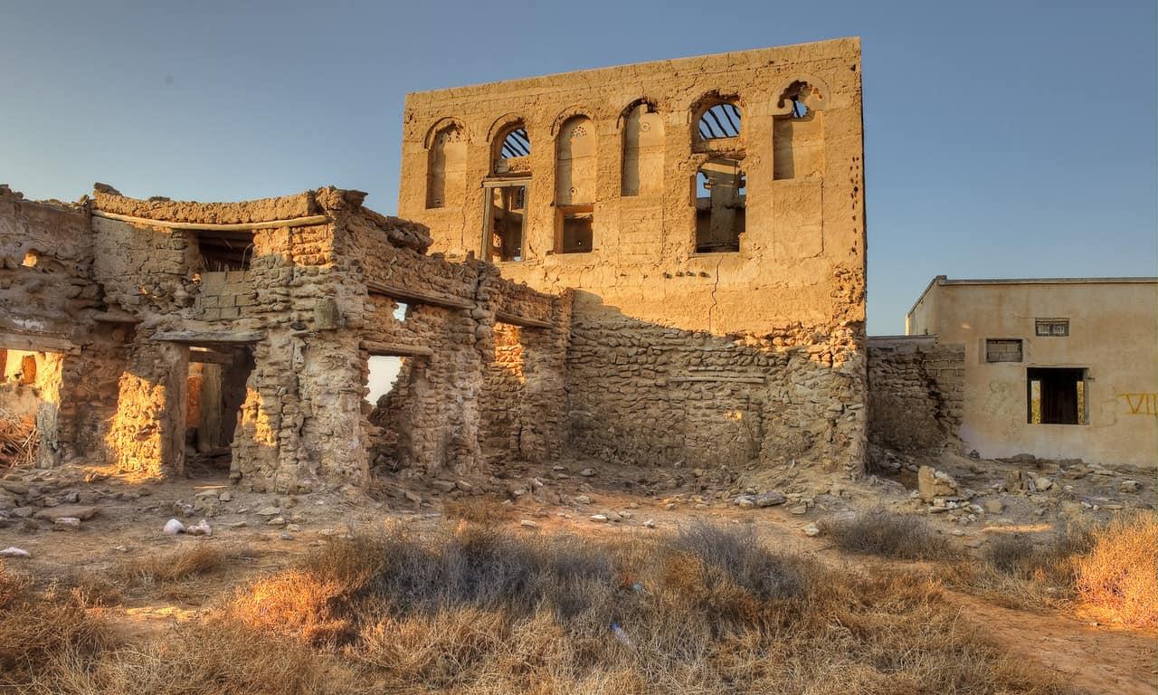 The Ghost Town of Ras Al Khaimah. Horror adventure