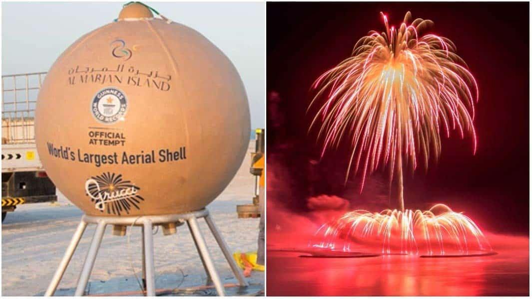 largest-aerial-firework-shell-Fireworks Ras Al Khaimah