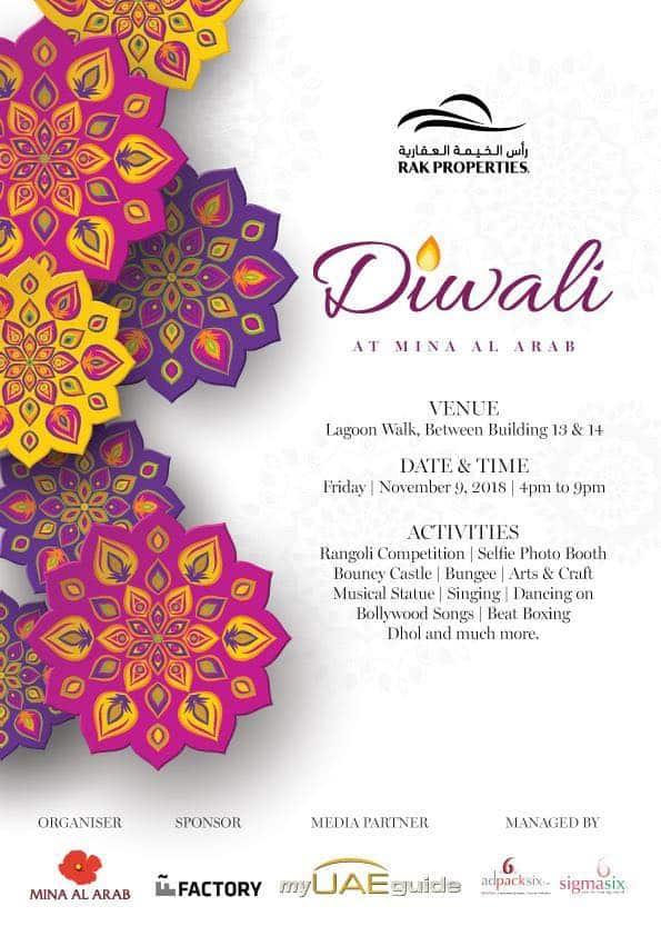 Ras Al Khaimah's WoW Diwali Celebrations at Mina Al Arab