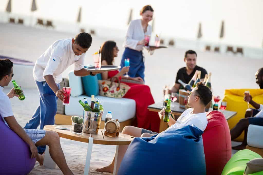 Barefoot Friday Brunch Ritz Carlton Al Hamra Beach Ras Al Khaimah