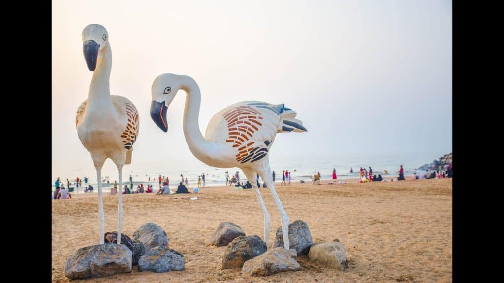 Flamingo or Muairidh Beach of Ras Al Khaimah