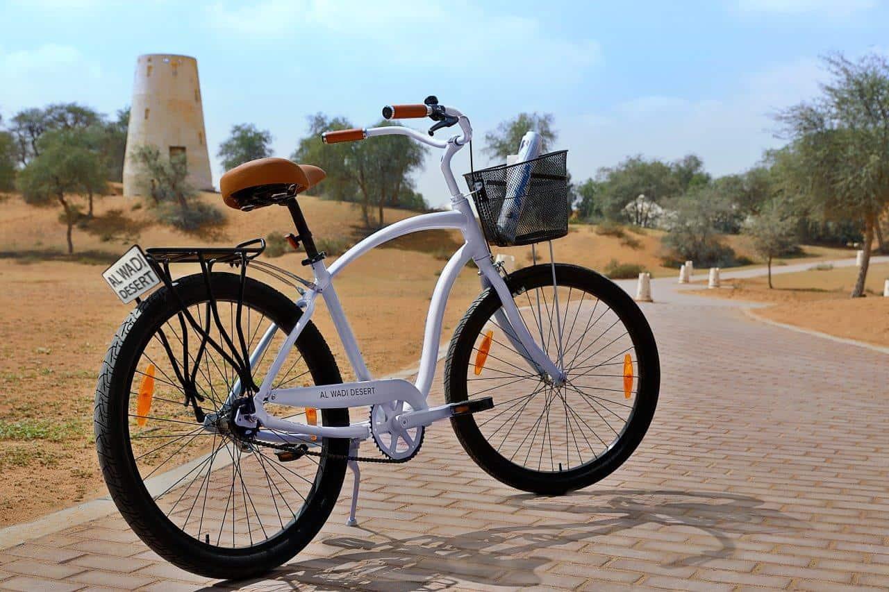 Desert bike caravan