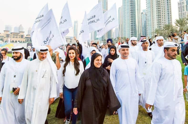 UAE Tolerance March 2018 in Emirates