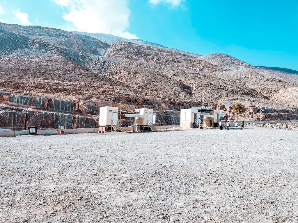 One of the campsite at Jebel Jais Ras Al Khaimah
