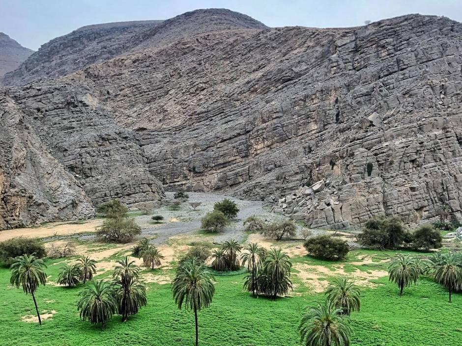 Wadis at Jebel Jais