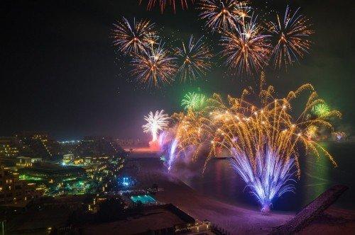 Ras Al Khaimah Fireworks 2019 - Guiness World Record