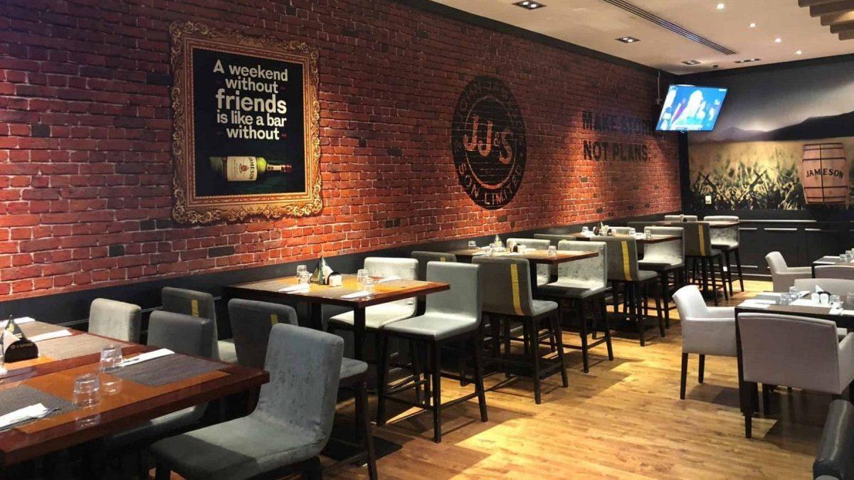 Bay Sports Bar Ras Al Khaimah interiors