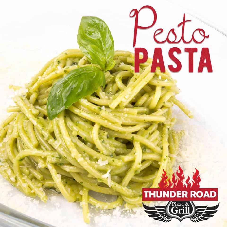 Pesto Homemade Thunder Road Pizza & Grill