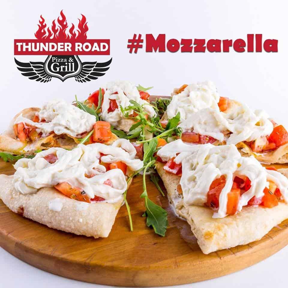 Homemade Mozzarella Thunder Road Pizza & Grill