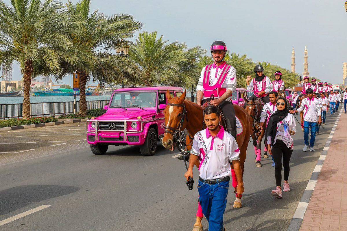 Pink Caravan at Ras Al Khaimah 2019