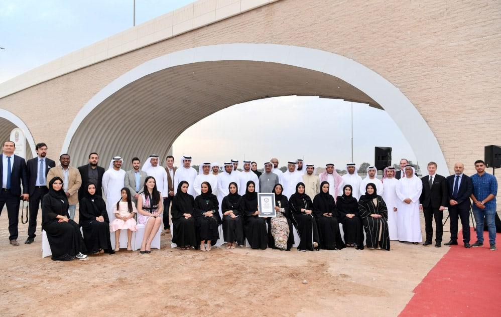 Shamal Steel Arch Bridge Ras Al Khaimah