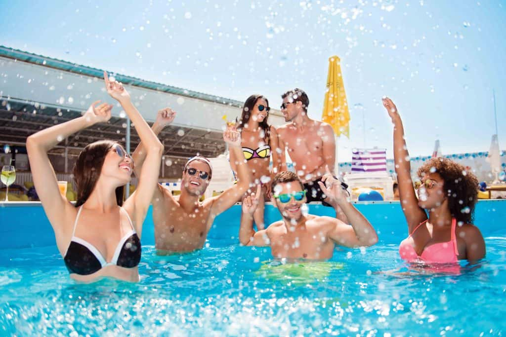 Sundowner Pool Party DoubleTree by Hilton Resort & Spa Marjan Island