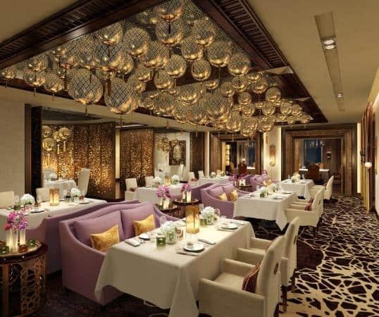 Marjan Restaurant, Traditional Middle East Elegance