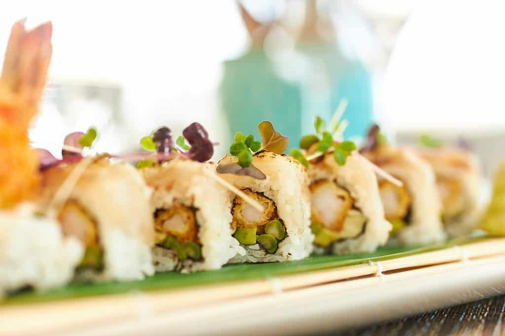 Enjoy Unlimited Sushi at Siddharta Lounge