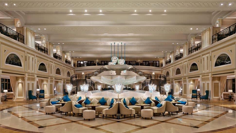 Waldorf Astoria Ras Al Khaimah Luxury lobby