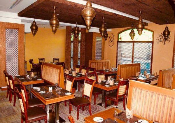 Liwan Restaurant One to one Mughal suites Ras Al Khaimah