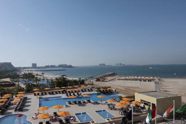 City Stay Ras Al Khaimah Infinity Swimming Pool, kids pool and Outdoor Jacuzzi