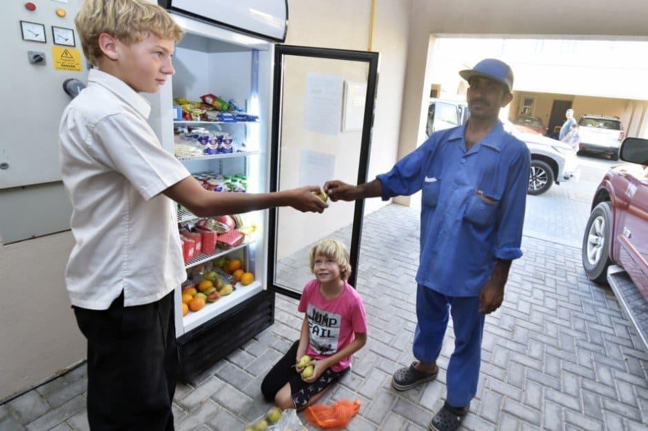 UAE Food Bank Fridges in Ras Al Khaimah