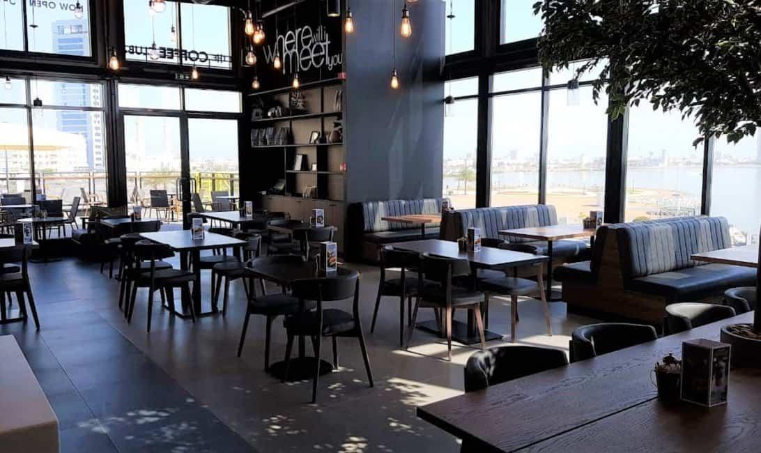 The Coffee Club Grove village Ras AL Khaimah