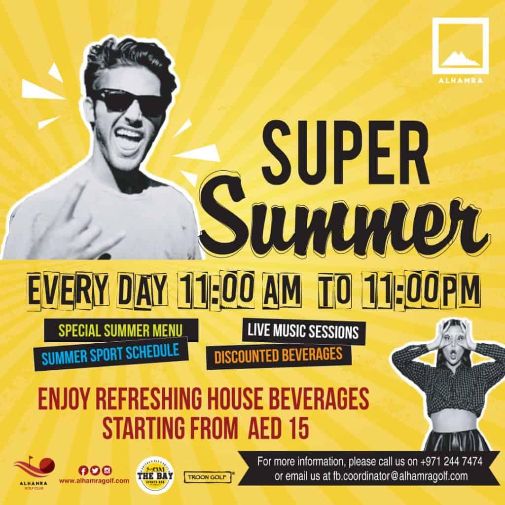 Super Summer at Al Hamra Golf Club