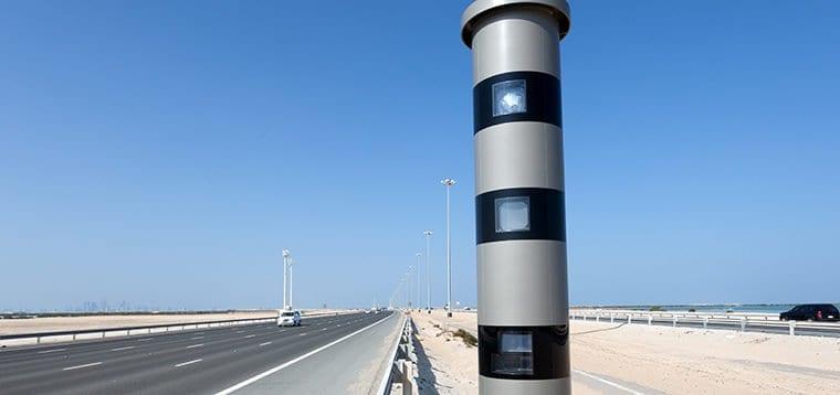 Alert! Three new Radars on Emirates Road, RAK