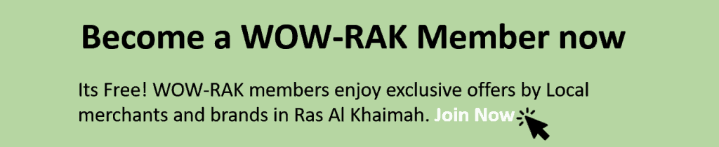 wow-rak member exclusive offers in ras al khaimah