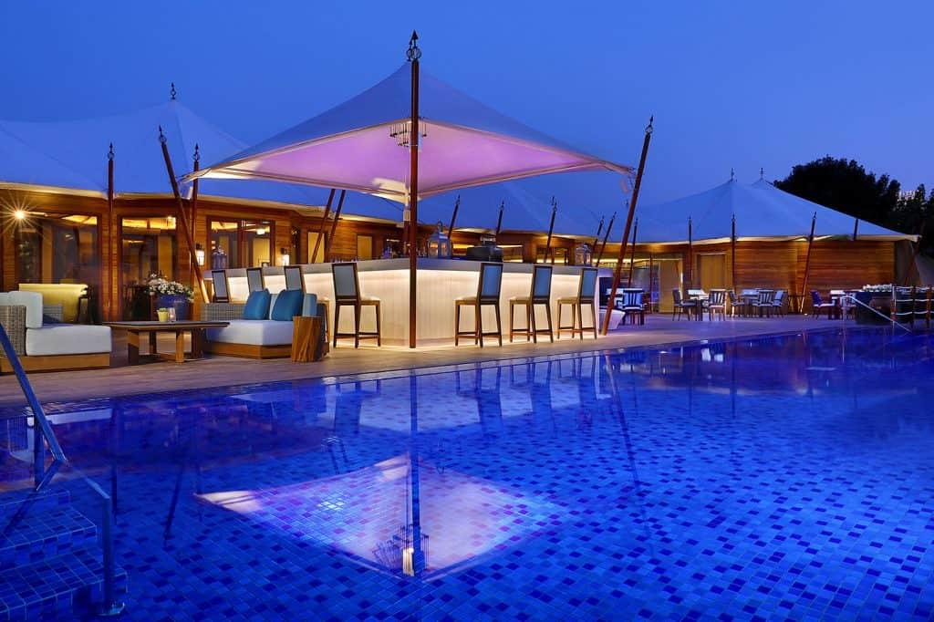 Shore house restaurant Ritz Carlton Ras Al Khaimah