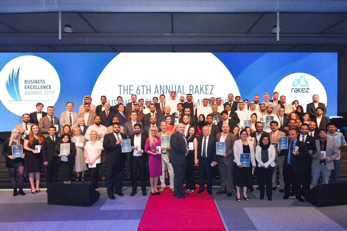 RAKEZ Business Excellence Awards 2019