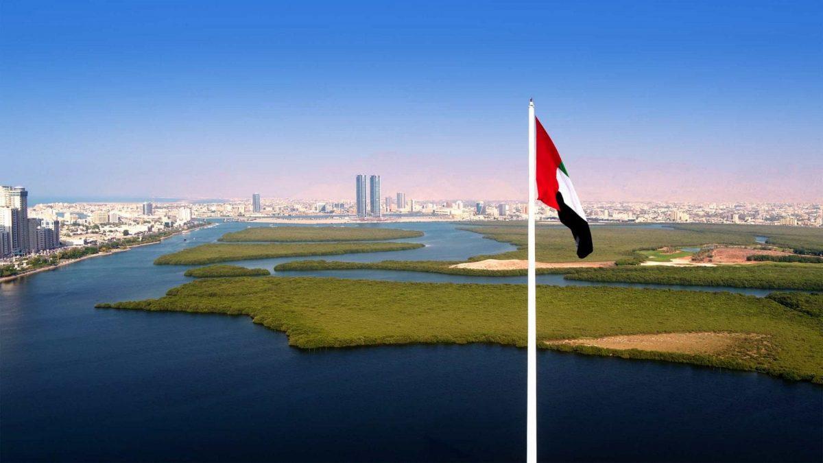 Aerial_view_of_RAK_City_from_Al_Qawasim_Corniche_flagpole wow-rak ras al khaimah