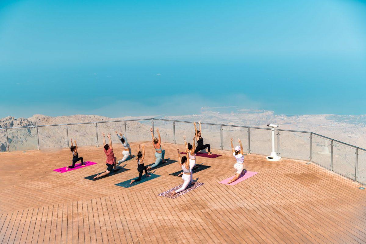 Experience yoga at UAE's highest mountain peak in Ras Al Khaimah